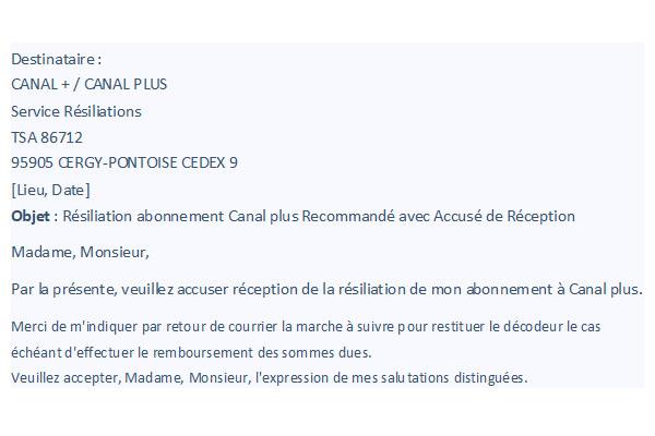 lettre-de-résiliation-abonnement-canal-plus