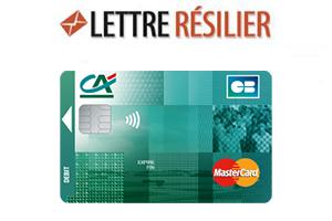 Crédit Agricole annulation carte bancaire