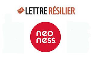 Résilier abonnement neoness en ligne