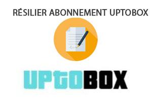 resilier abonnement uptobox