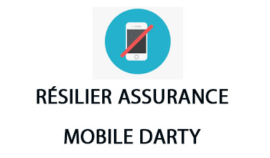 résilier assurance mobile Darty