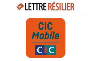 Résilier Abonnement Cic Mobile Lettre De Résiliation D Un