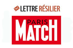 Résilier abonnement paris match