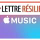 résilier dfinitivement mon abonnement Apple Music