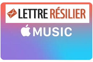 résilier dfinitivement mon abonnement Apple Music