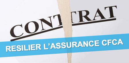 Cfca assurance mobile conditions résiliation