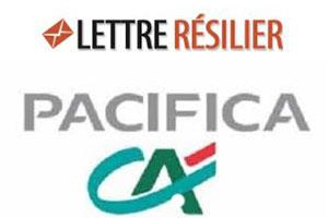 résilier contrat Pacifica