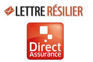 résilier une assurance direct assurance