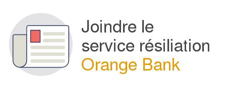 Orange bank adresse clôture compte