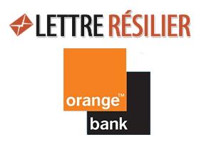 Fermeture de compte bancaire Orange bank