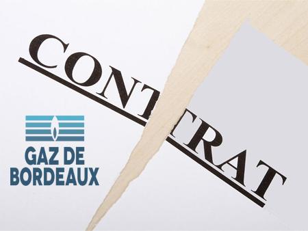 Demande d'annulation de contrat Gaz de Bordeaux