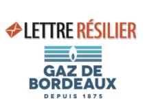 Comment résilier un contrat Gaz de Bordeaux?