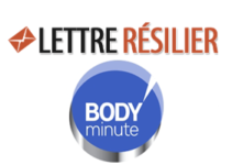 Résilier abonnement Body Minute