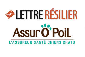 Résiliation du contrat d'assurance animaux Assur O'Poil
