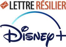 Résilier abonnement Disney +